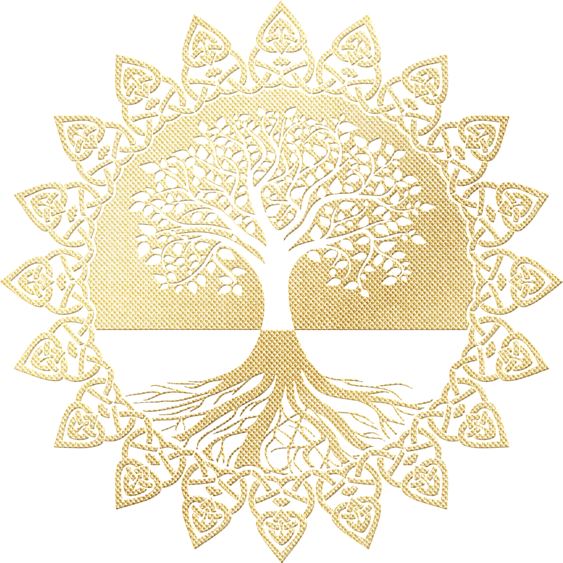 signification arbre de vie dans une décoration